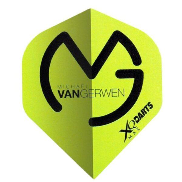 michael van Gerwen flight groen
