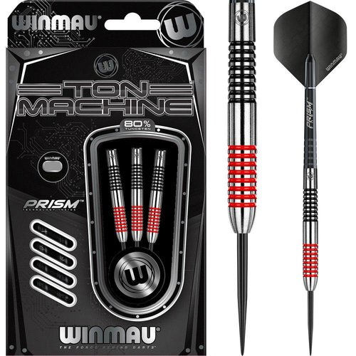 Winmau ton machine rood