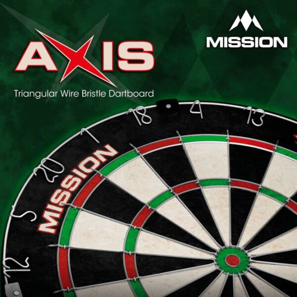 Mission Axis Dartboard doos