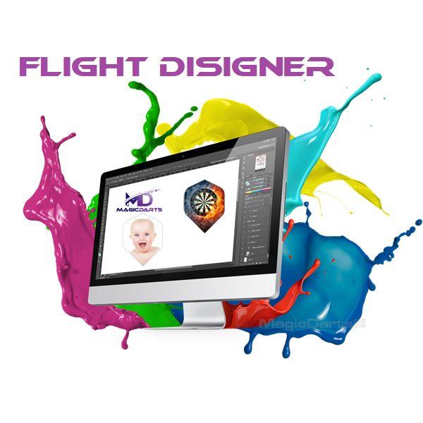 Flight disigner bedrukken ontwerpen