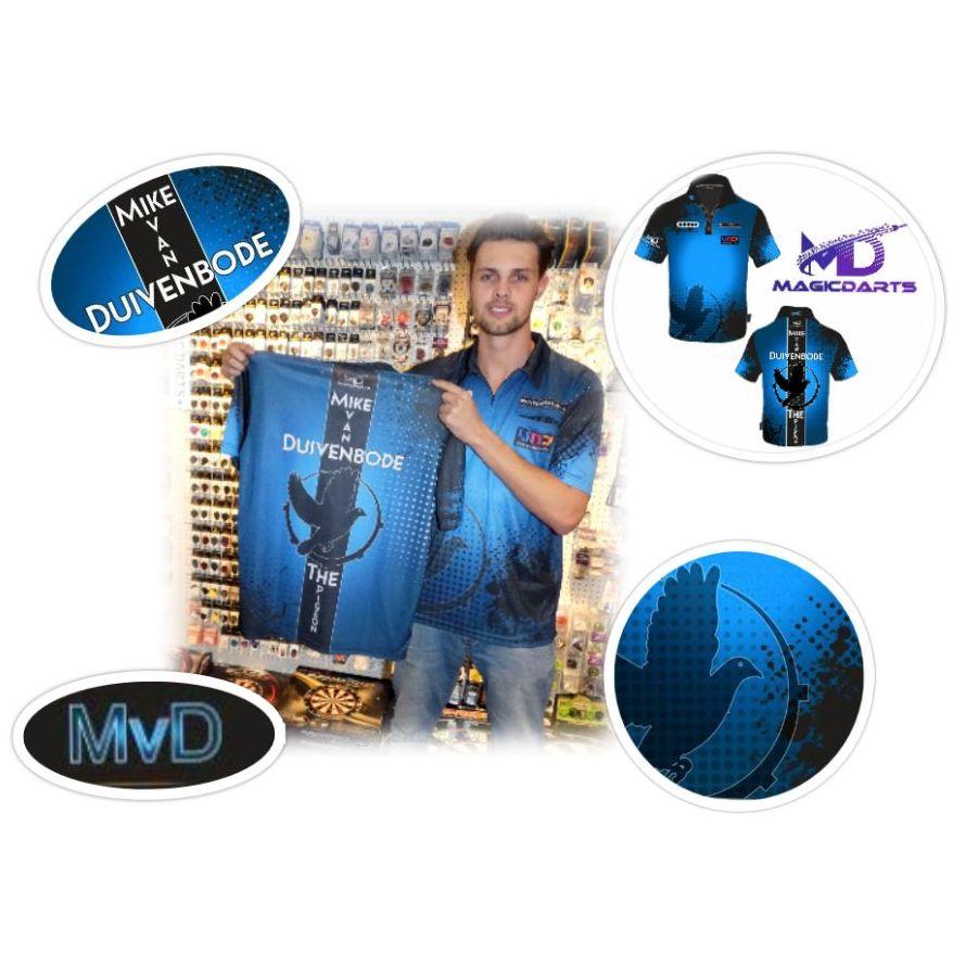 Mike van Duivenbode Nieuwe shirt