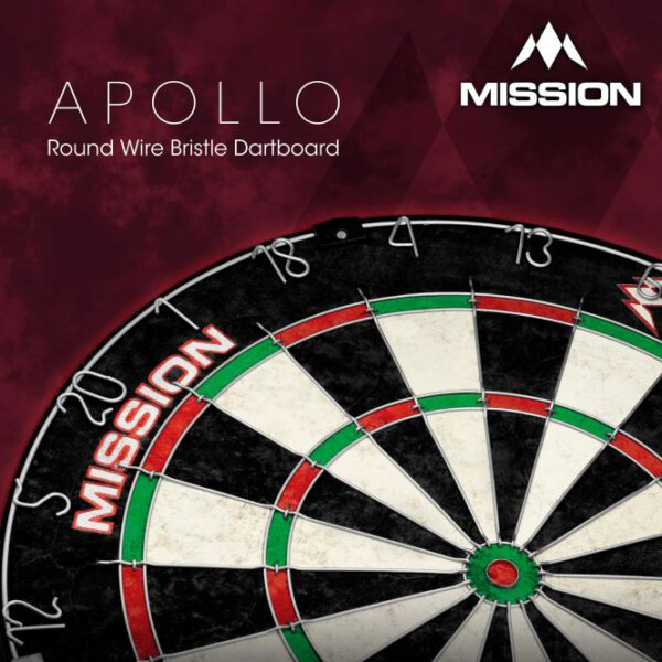 Mission Apollo Dartboard doos