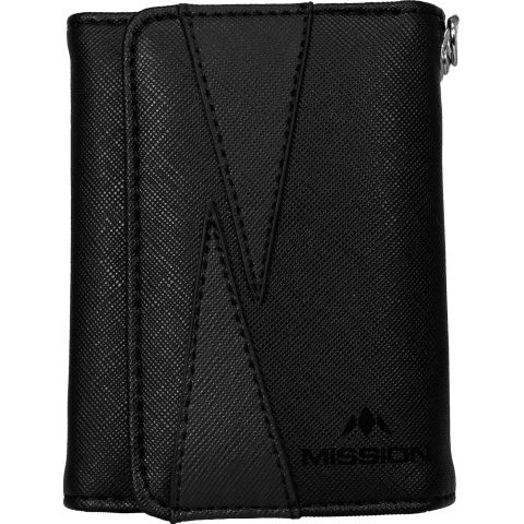 Mission Flint Darts Wallet zwart