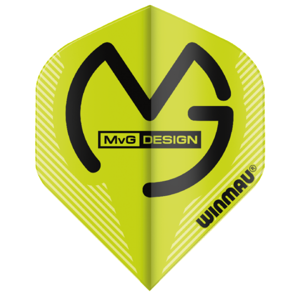 Winmau MVG Flights Mega Standard Green