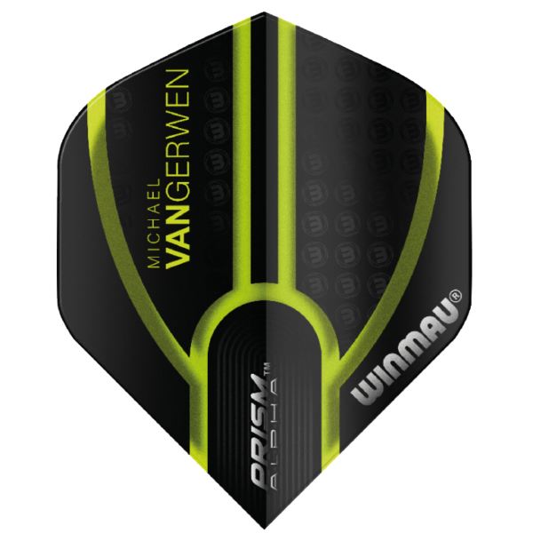 Winmau MVG Flights Prism Alpha Translucent Black