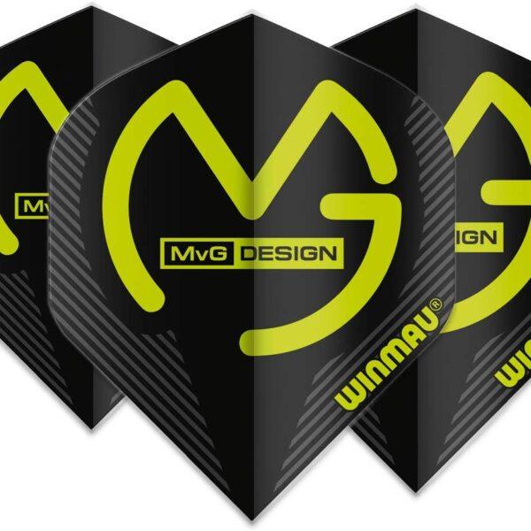 Michael van gerwen flights Mega Standard MvG Black