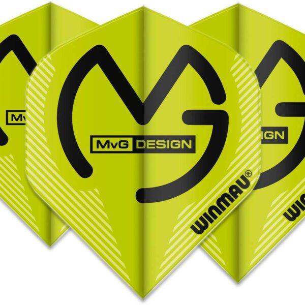 Michael van gerwen flights Mega Standard MvG Green