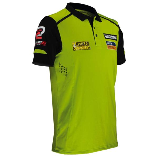 Winmau MvG Pro-Line Shirt zijkant