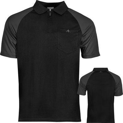 Mission Darts shirt zwart grijs
