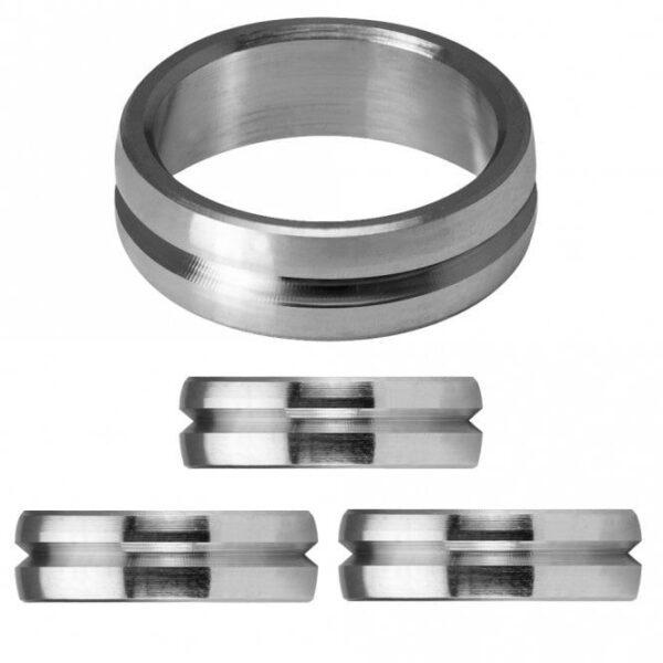 Mission F Lock Titanium Rings