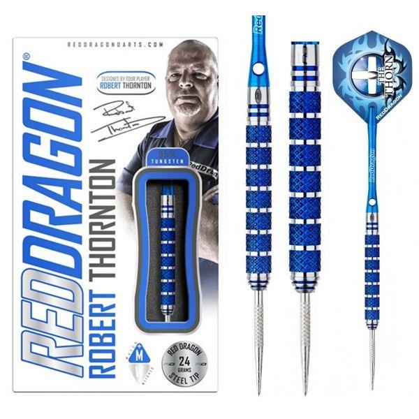 Robert Thorton blue dartpijlen